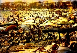 playa de la Costa Daurada