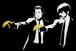 Pulp Fiction (Bansky)