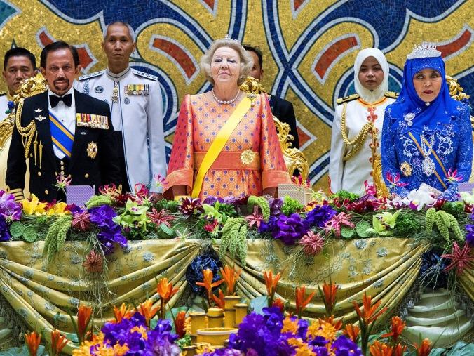 Hassanal Bolkiah, sultán de Brunei y propietario de la cadena hotelera Dorchester