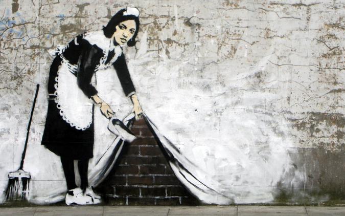 banksy-maid
