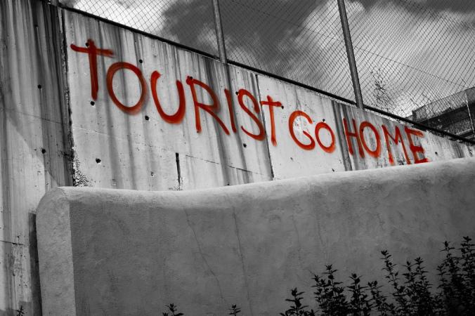 muro turistico